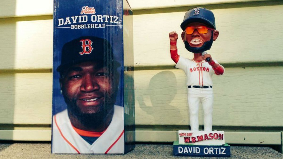 Red Sox Cancel David Ortiz Bobblehead Night After Figures Determined To Be 'Racially Insensitive'