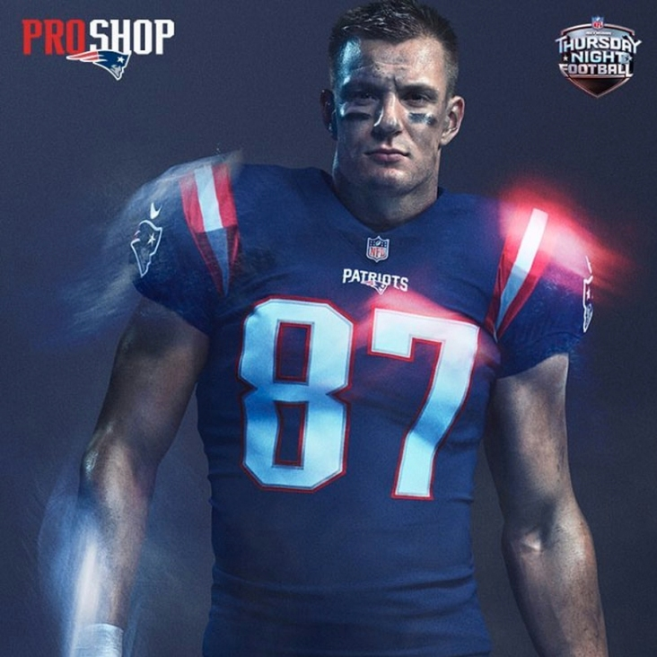 release date 93662 ac357 Patriots Release Thursday Night Football Color Rush Jersey ...