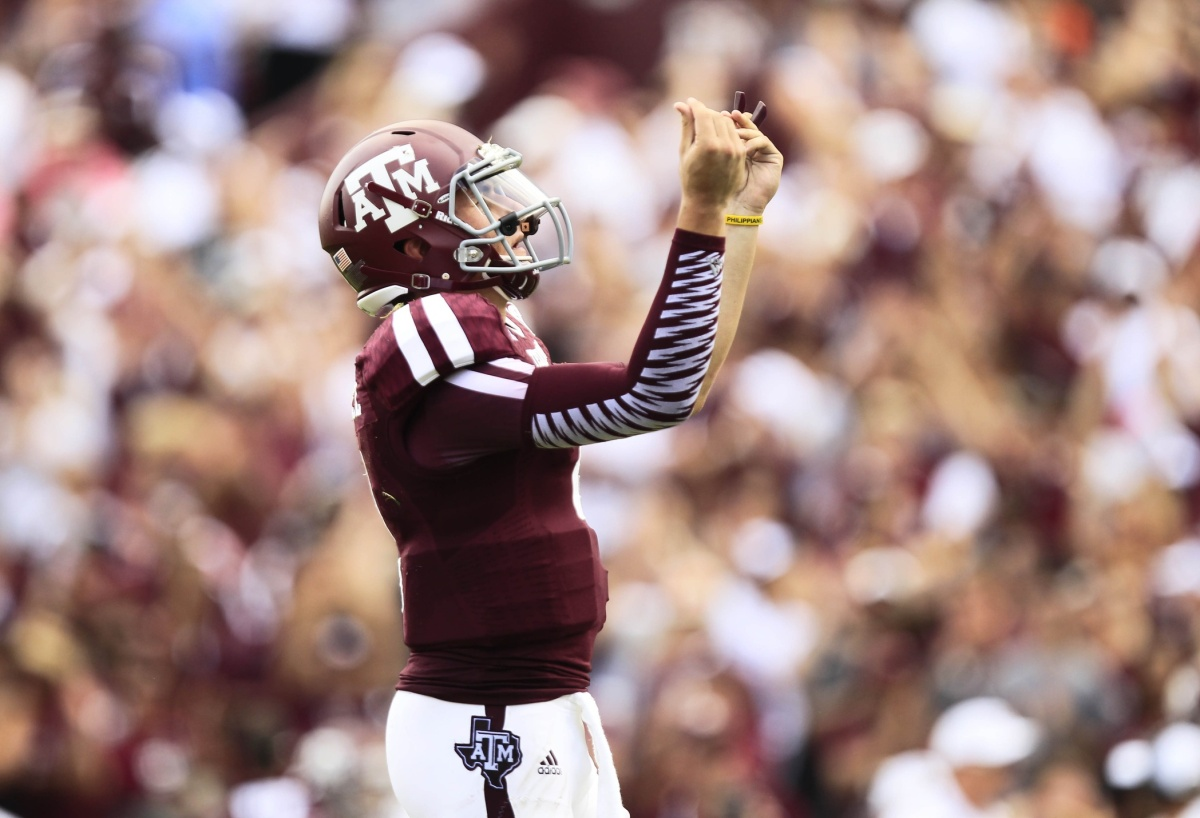 Johnny Manziel Returns to Texas A&M And Is Taking Classes