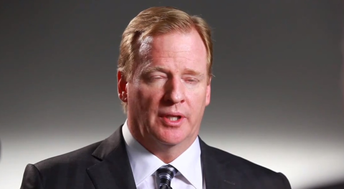 Video Of Roger Goodell's Reaction After Patriots Win