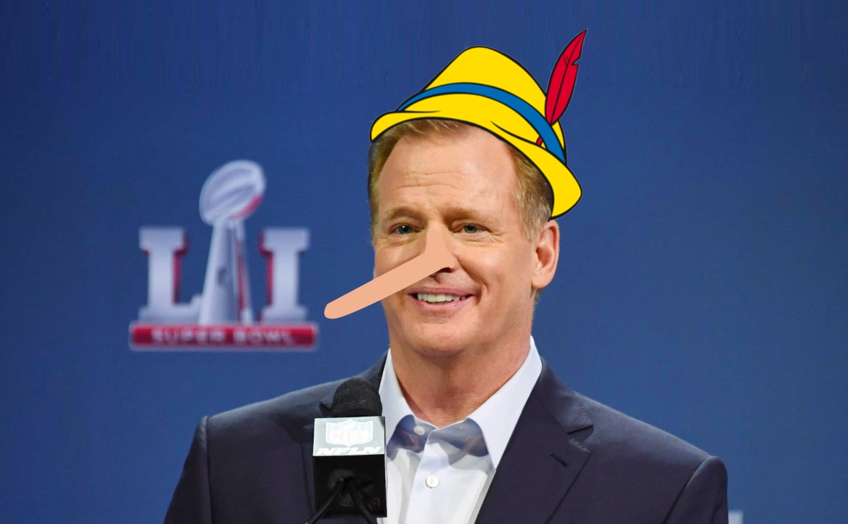 BREAKING NEWS: Roger Goodell Is A Liar