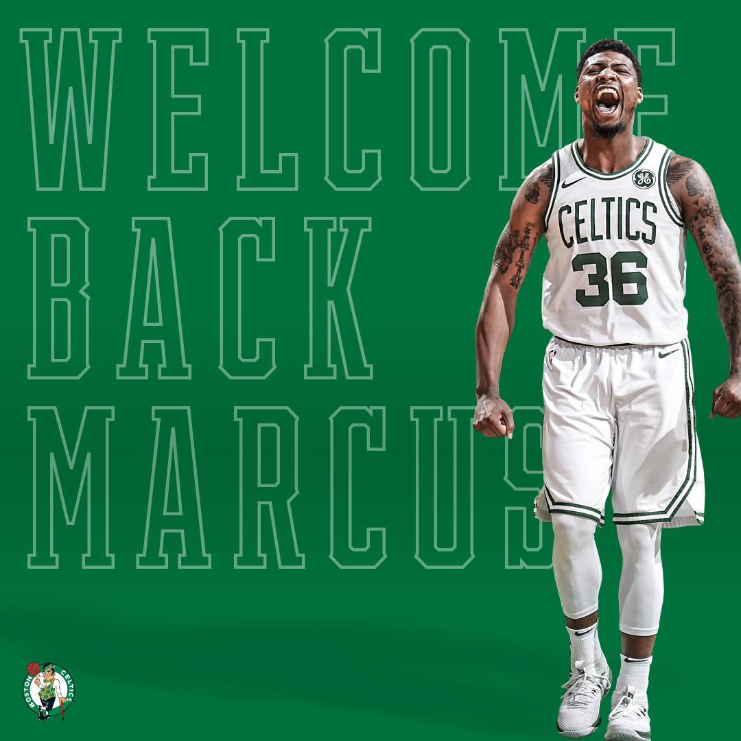 Marcus Smart Re-Signs With The Boston Celtics On A Four
